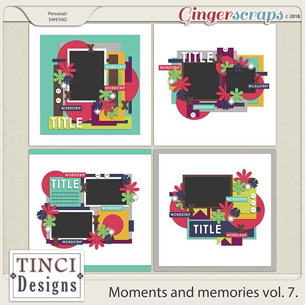 Moments and memories vol. 7.
