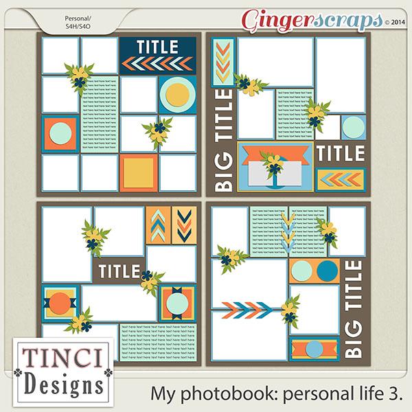 My photobook: personal life 3.