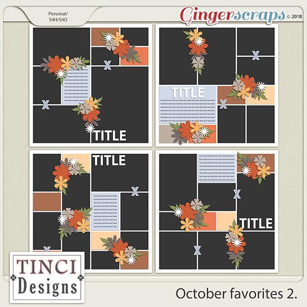 October favorites 2.