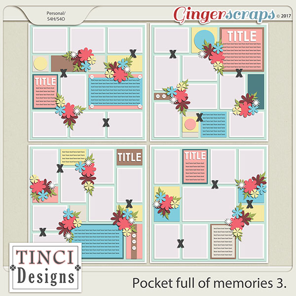Pocket full of memories 3.