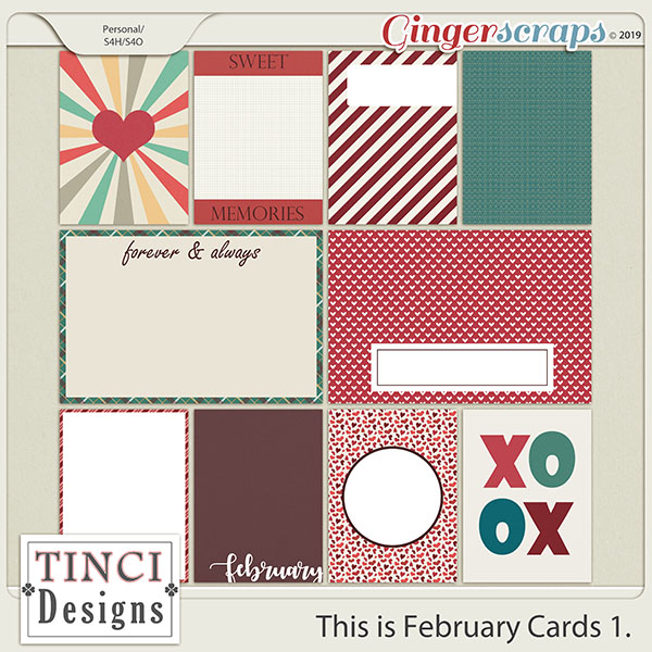 This is February Cards 1.