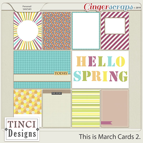 This is March Cards 2.