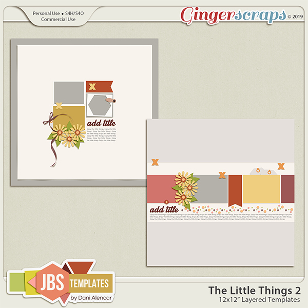 The Little Things 2 Templates by JB Studio