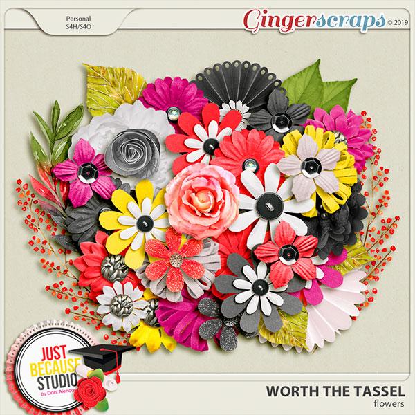 Worth The Tassel Flowers by JB Studio