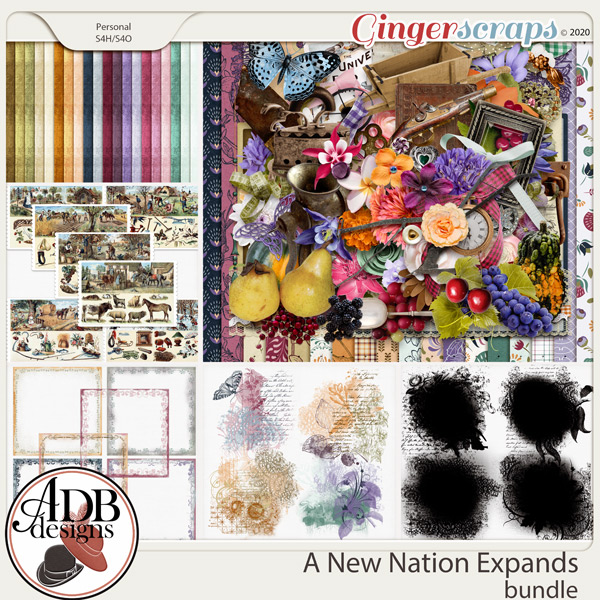 A New Nation Expands Bundle by ADB Designs
