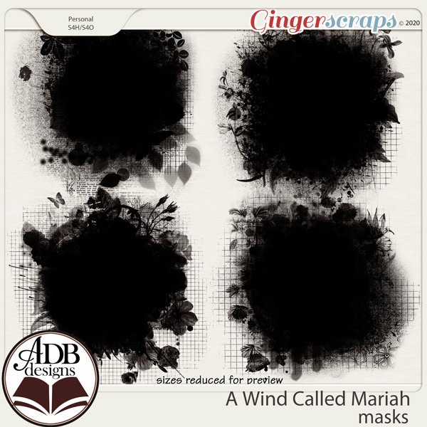 A Wind Called Mariah Masks by ADB Designs