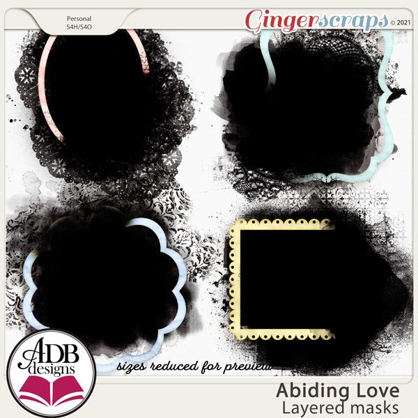Abiding Love Layered Masks by ADB Designs