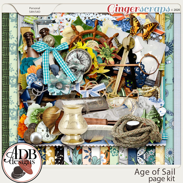 Age of Sail Page Kit by ADB Designs