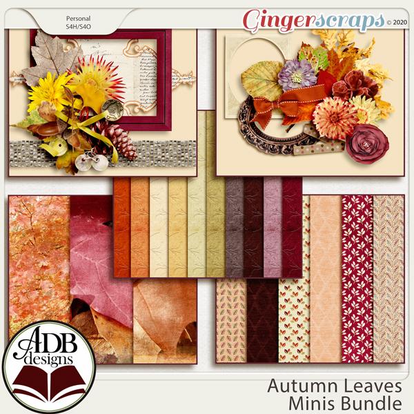 Autumn Leaves Bundle by ADB Designs