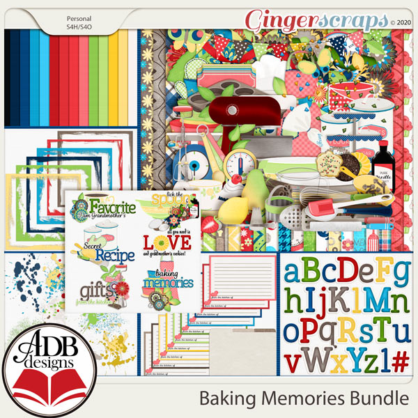 Baking Memories Bundle by ADB Designs