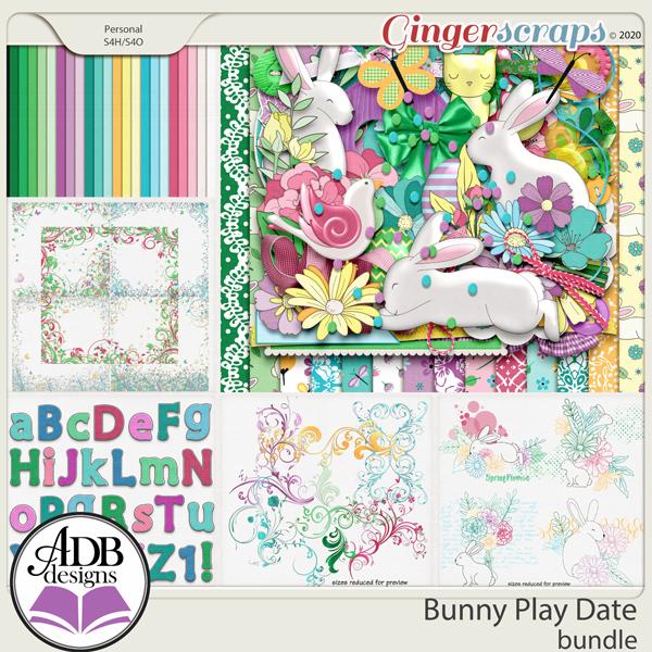 Bunny Play Date Bundle by ADB Designs