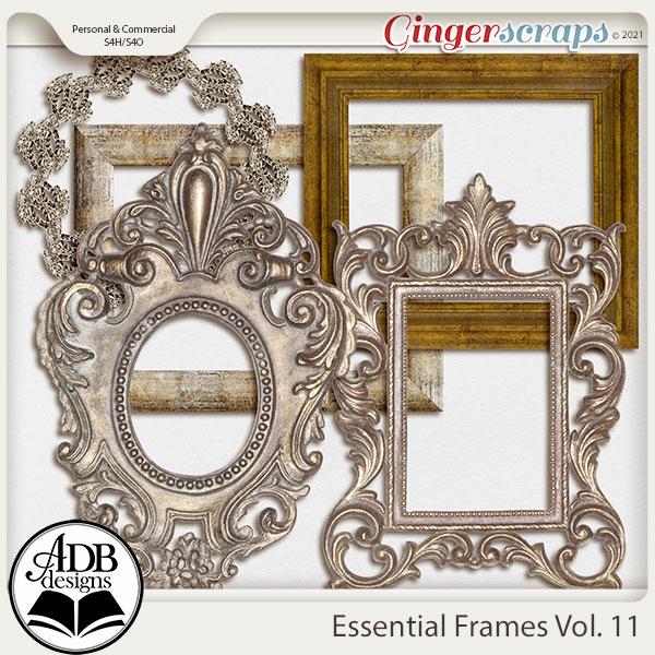 Essential Frames Vol 11 by ADB Designs
