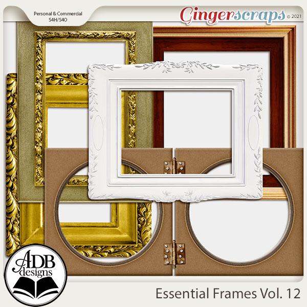 Essential Frames Vol 12 by ADB Designs