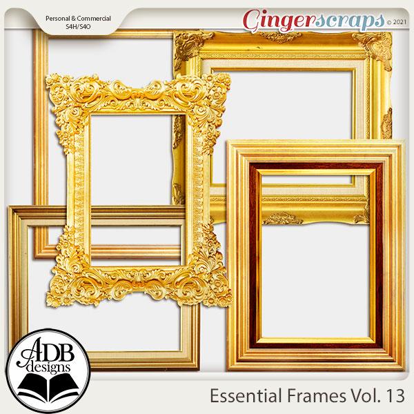 Essential Frames Vol 13 by ADB Designs