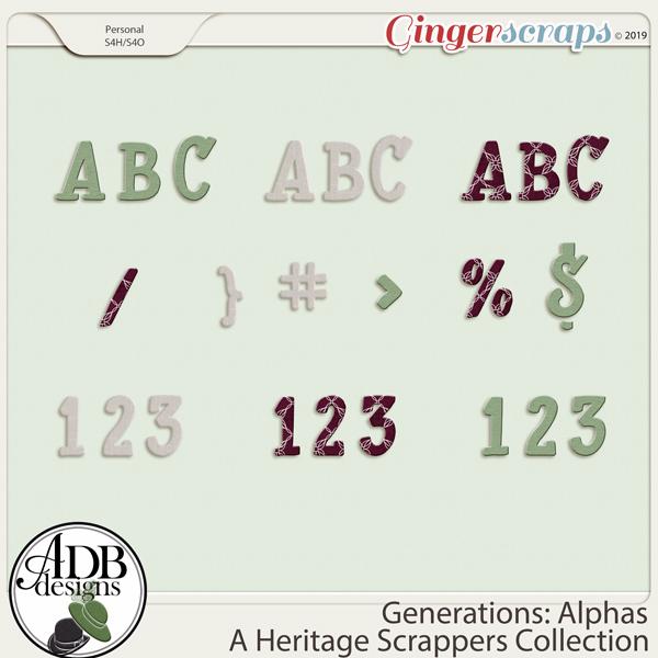 Generations Alphas by ADB Designs