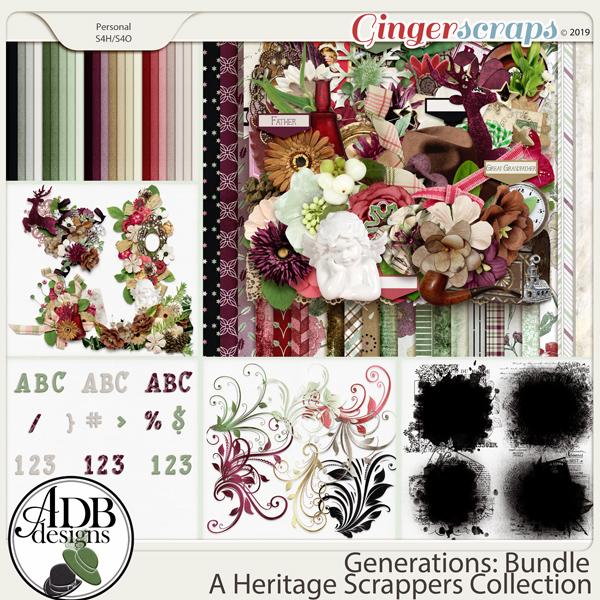 Generations Bundle by ADB Designs