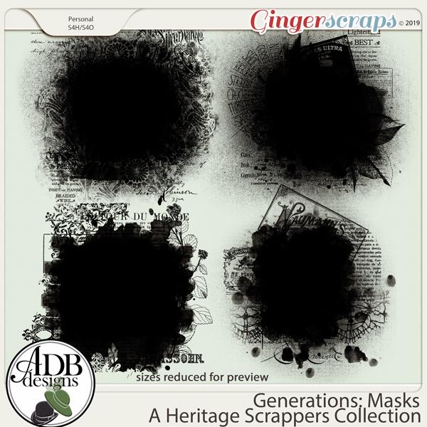 Generations Masks by ADB Designs