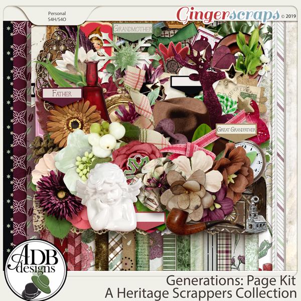 Generations Page Kit by ADB Designs