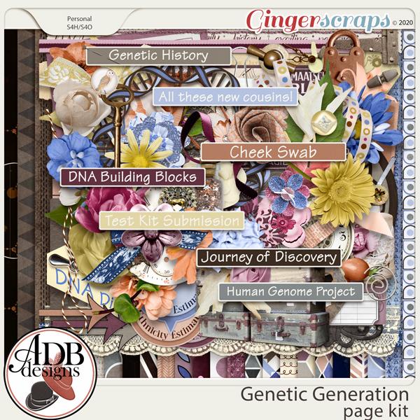 Genetic Generation Mega Kit by ADB Designs
