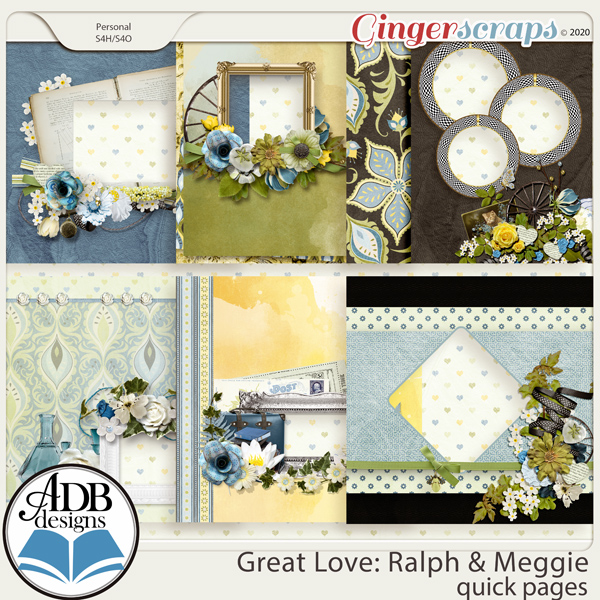 Great Love: Ralph & Meggie Album QPs by ADB Designs