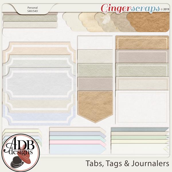 Heritage Resource - Tabs, Tags & Journalers by ADB Designs