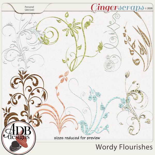 Heritage Resource - Wordy Flourishes by ADB Designs