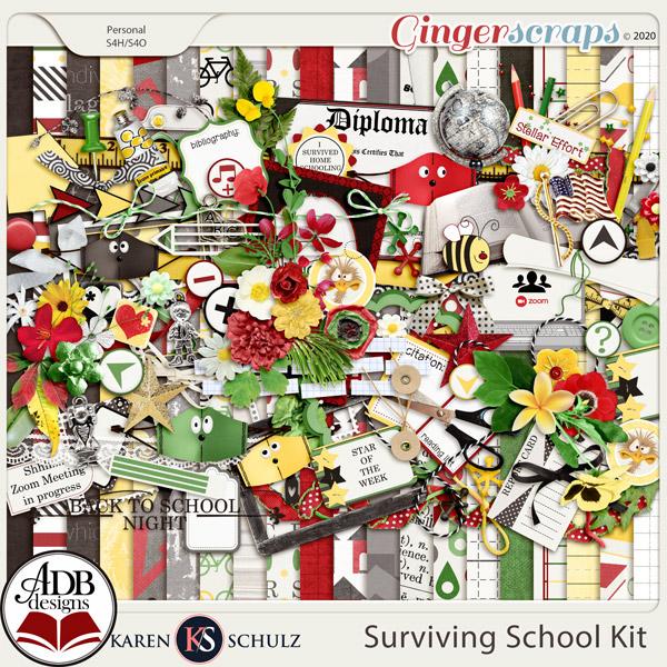 Surviving School Kit by Karen Schulz and ADB Designs