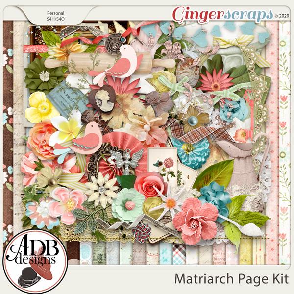 Matriarch Page Kit by ADB Designs