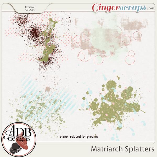 Matriarch Splatters by ADB Designs
