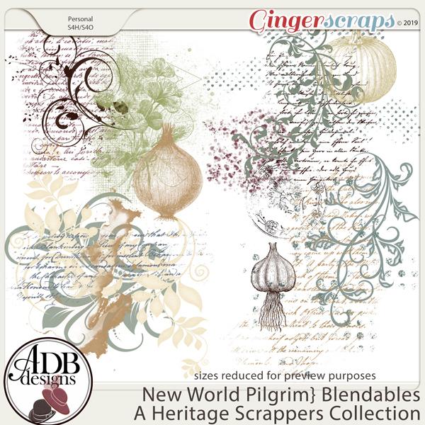 New World Pilgrim Blendables by ADB Designs