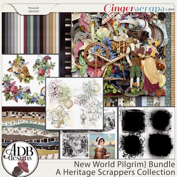 New World Pilgrim Bundle by ADB Designs
