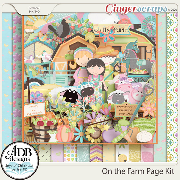 On the Farm Page Kit by ADB Designs