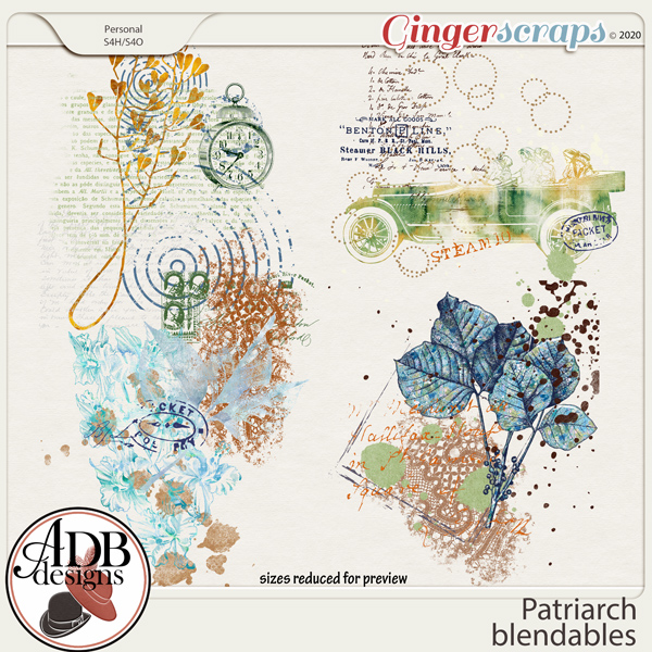 Patriarch Blendables by ADB Designs