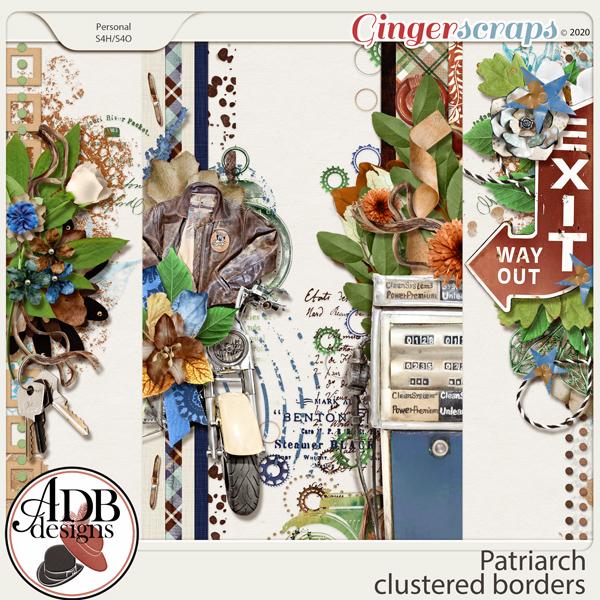 Patriarch Cluster Borders by ADB Designs