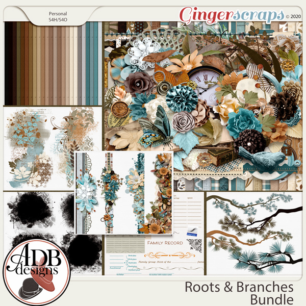 Roots and Branches Bundle by ADB Designs