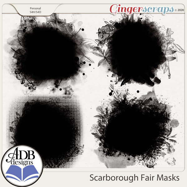 Scarborough Fair Masks by ADB Designs