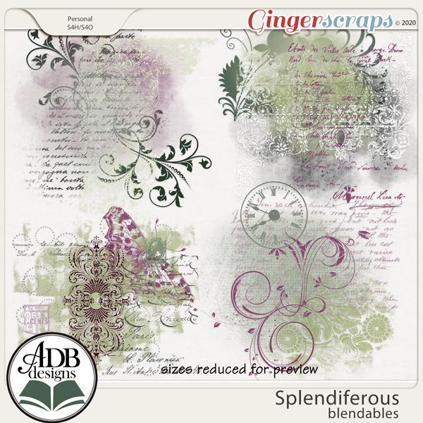 Splendiferous Blendables by ADB Designs