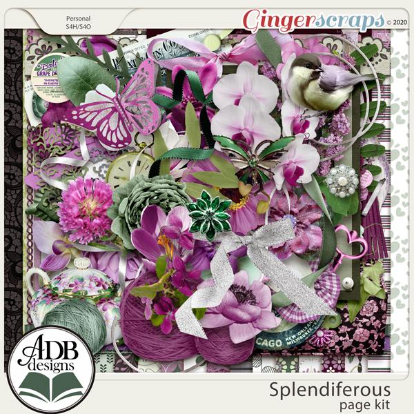 Splendiferous Page Kit by ADB Designs
