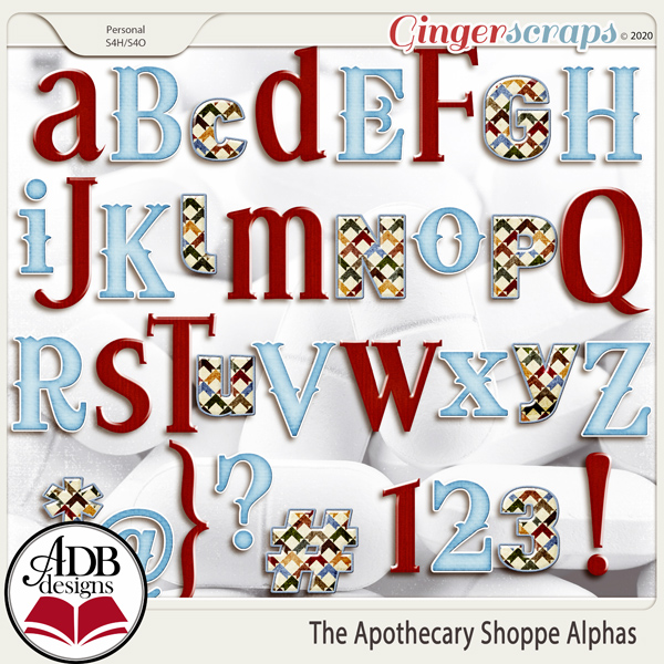The Apothecary Shoppe Alphas by ADB Designs