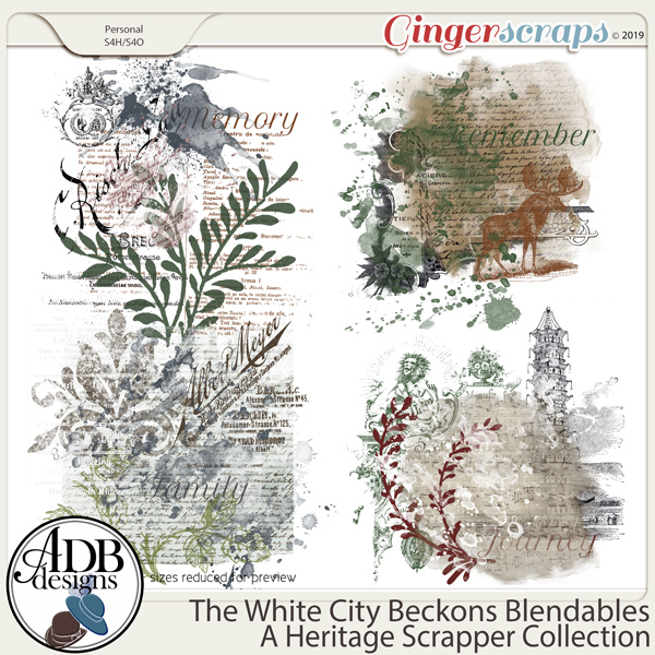 The White City Beckons Blendables by ADB Designs