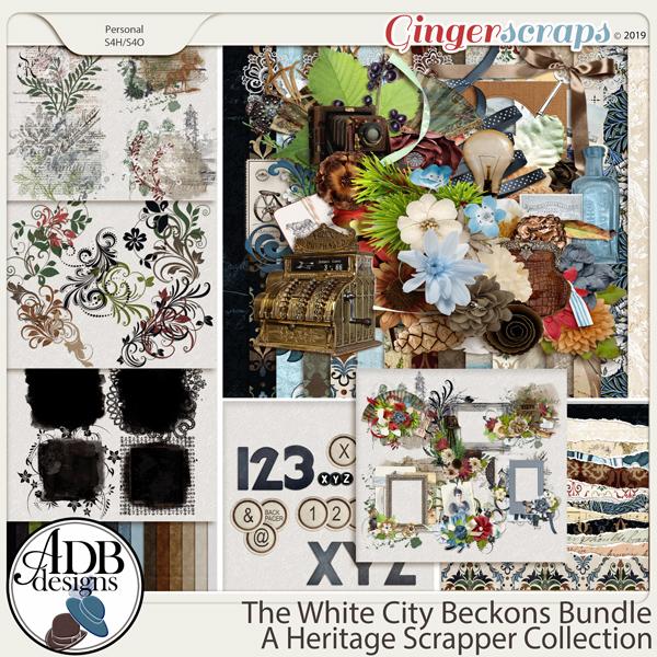 The White City Beckons Bundle by ADB Designs