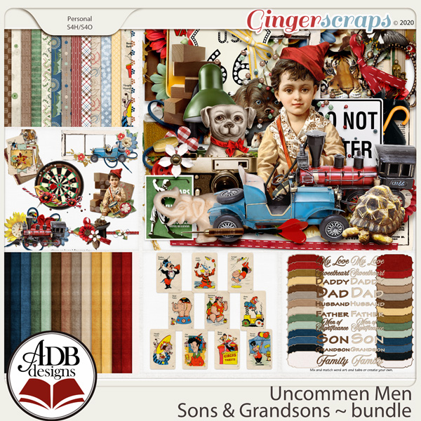 Uncommon Men - Sons & Grandsons Bundle by ADB Designs