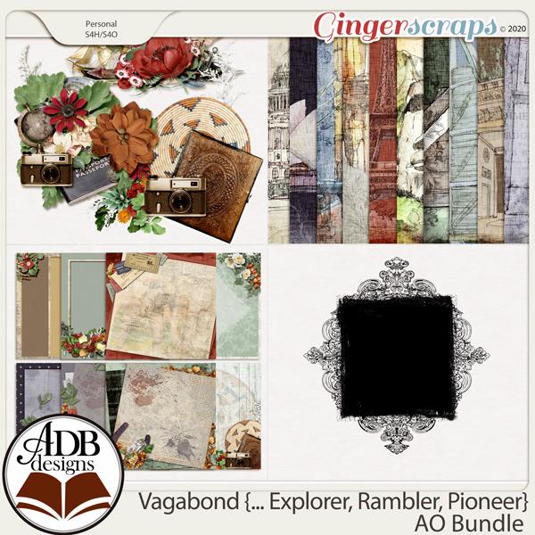 Vagabond, Explorer, Rambler, Pioneer AO Extras Bundle by ADB Designs