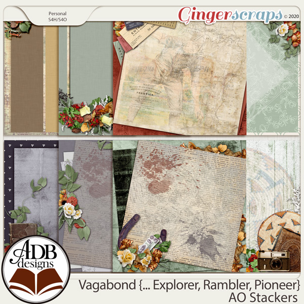 Vagabond, Explorer, Rambler, Pioneer AO Stackers by ADB Designs