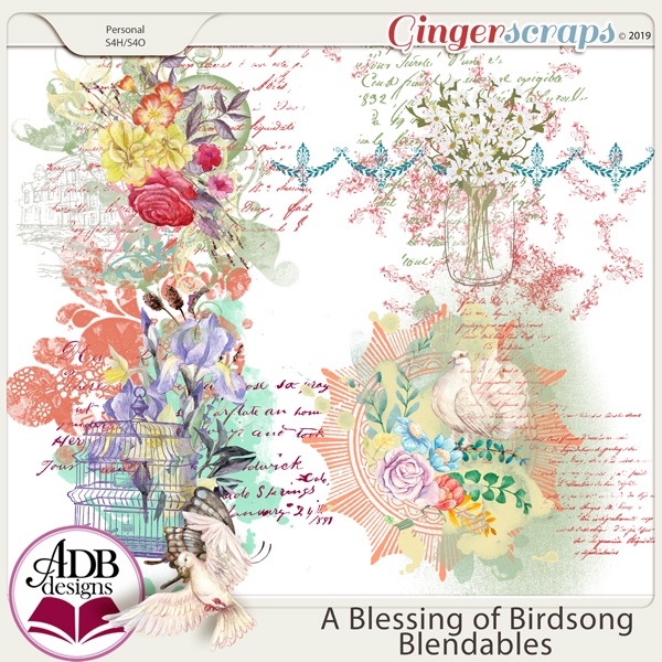 A Blessing of Birdsong Blendables by ADB Designs