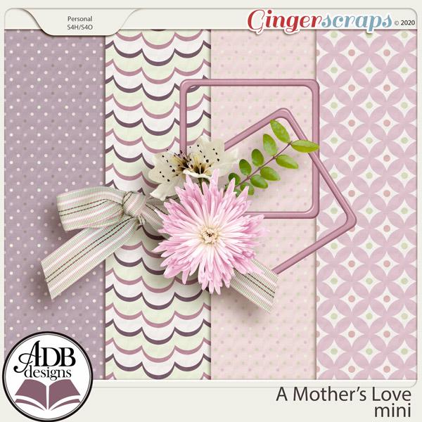A Mother's Love Mini Kit by ADB Designs