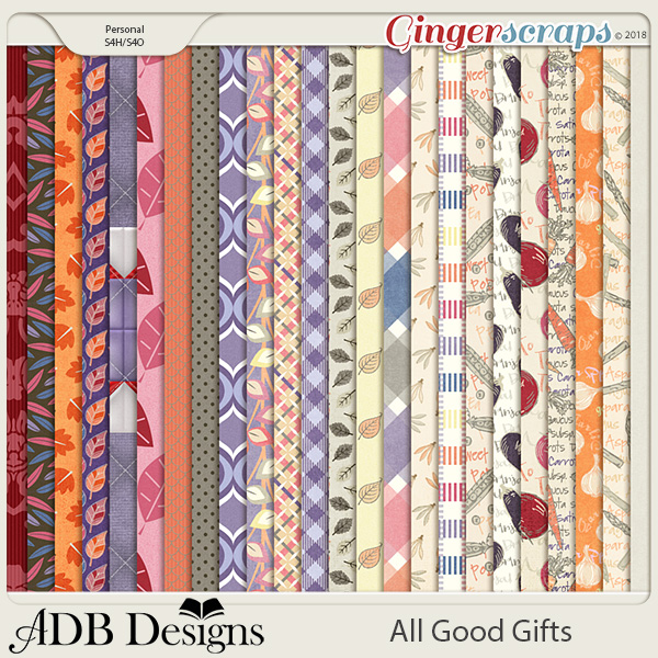 All Good Gifts Harvest Patterned Paper