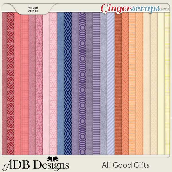 All Good Gifts Solid & Duotone Papers