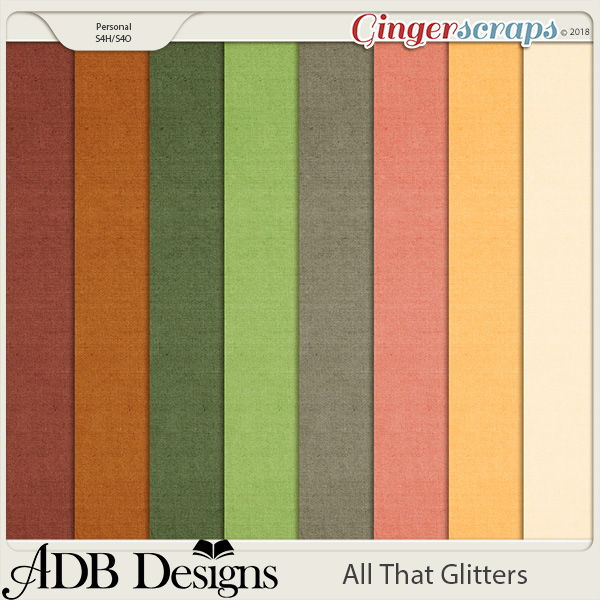 All That Glitters Cardstock Solids