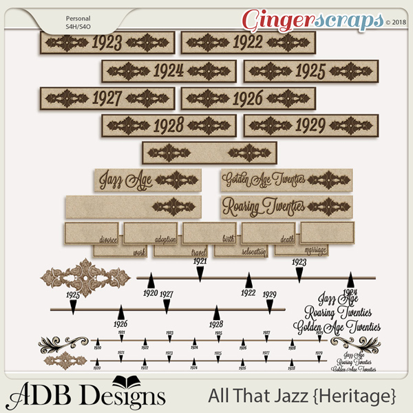 All That Jazz Timeline & Tags